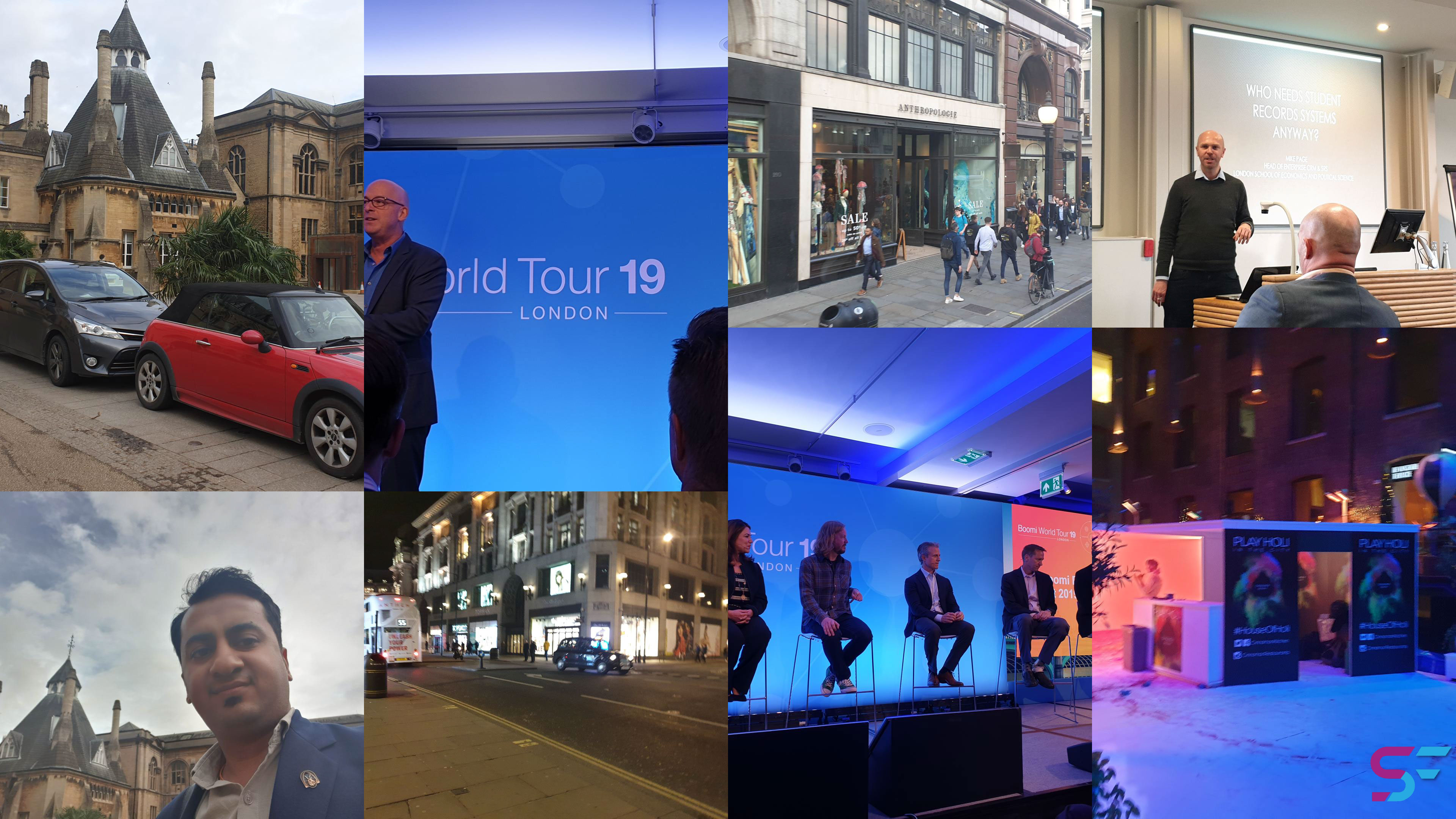 Experiences on a UK Business Trip